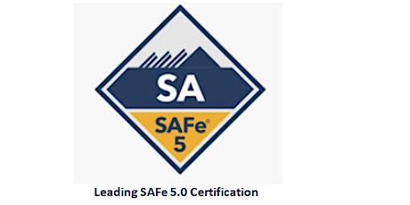 Leading SAFe 5.0 Certification 2 Days Training in Edmonton tickets