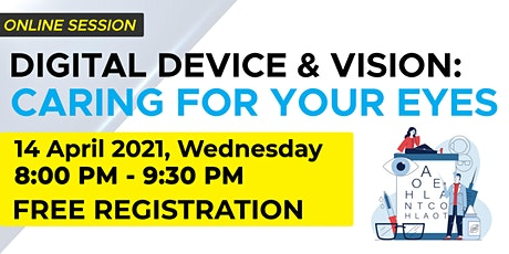 Digital Device and Vision: Caring for your Eyes tickets