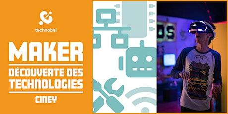 STAGE / Ciney : Partez à la découverte des technologies ! (12-15 ans) billets