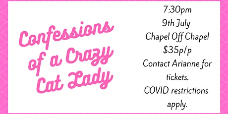Cabaret Showcases - Confessions of a Crazy Cat Lady tickets
