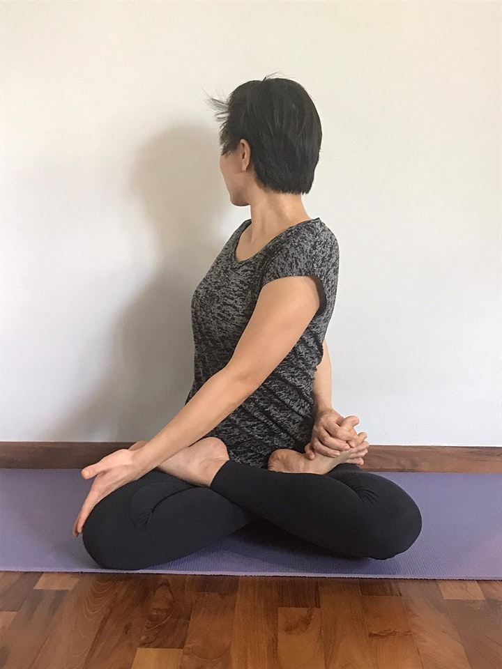 Online Therapeutic Yoga Sessions starts 4 April (4 Sessions) image