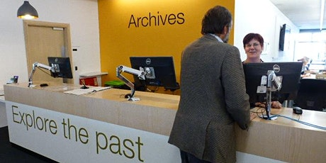 Visiting Worcestershire Archives: original archives area tickets