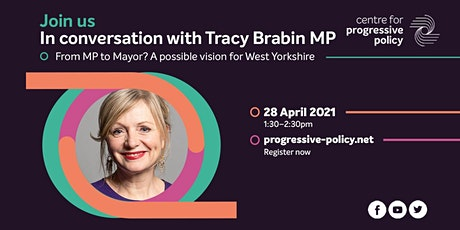 In conversation with Tracy Brabin MP tickets