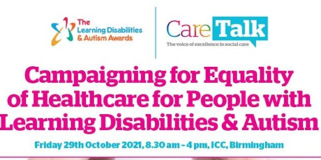 Learning Disabilities and Autism Annual Conference 2021 tickets