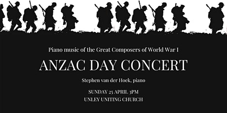 ANZAC DAY CONCERT tickets
