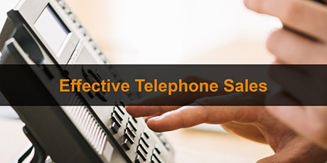 Effective Telephone Sales Training Course: Online Training tickets