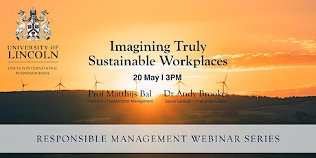 Imagining Truly Sustainable Workplaces tickets