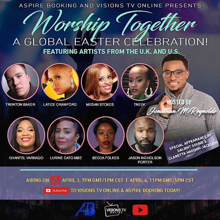 Worship Together: A Global Easter Celebration Host image