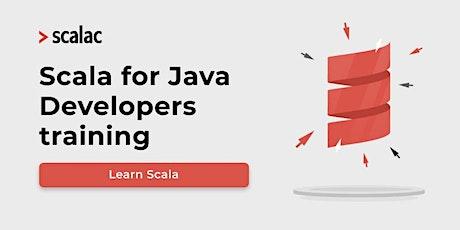 Scala for Java Developers biglietti