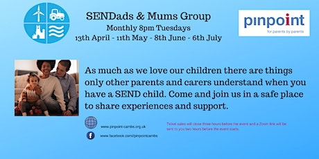 SENDads & Mums Group -  parents & carers of children with additional needs tickets