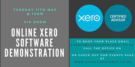 Xero Software Demonstration tickets