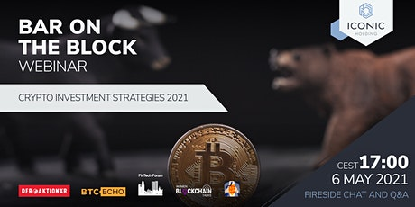 Crypto Investment Strategies 2021 tickets