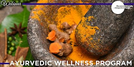 Webinar   Ayurvedic Wellness Certificate Program tickets