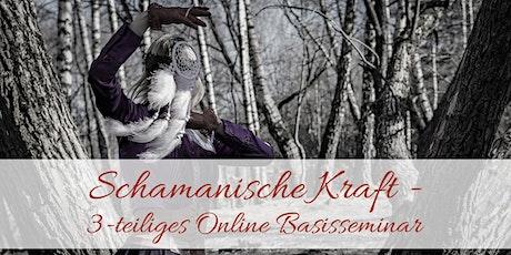 Schamanische Kraft - 3-teiliges Online Basisseminar Tickets