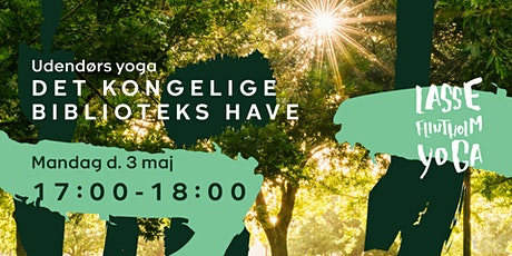 Yoga i Det Kongelige Biblioteks Have tickets