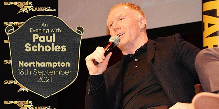 An Evening with Paul Scholes - Northampton image
