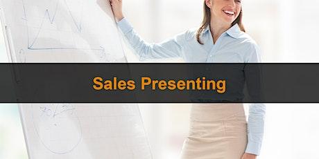 Sales Training London:  Sales Presenting tickets
