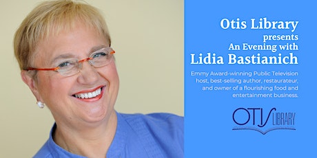 Evening with an Author featuring Lidia Bastianich entradas