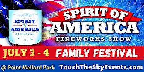 Spirit of America Family Festival & Fireworks tickets