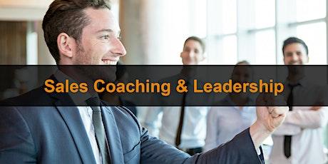 Sales Training London:  Sales Coaching & Leadership tickets