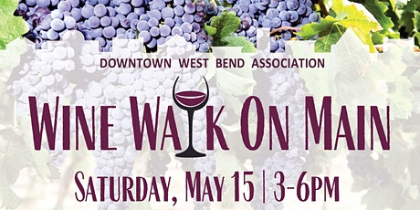 Wine Walk on Main tickets