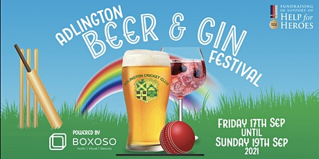 Adlington Beer & Gin Festival tickets