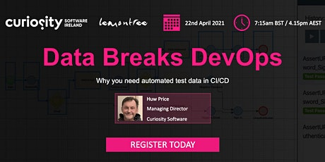 Data Breaks DevOps: Why you need automated test data in CI/CD tickets
