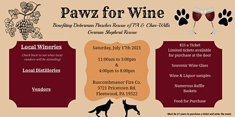 Pawz for Wine tickets