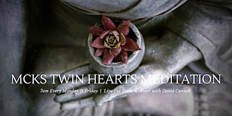 Morning Twin Hearts Meditation tickets