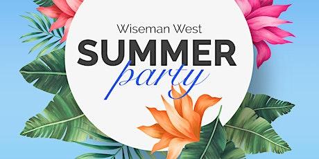 Wiseman West FC Summer Party tickets