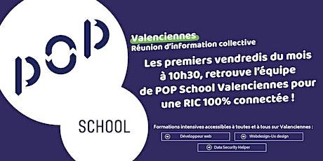 Réunion Information Collective/ Fabrique numérique POP School Valenciennes tickets