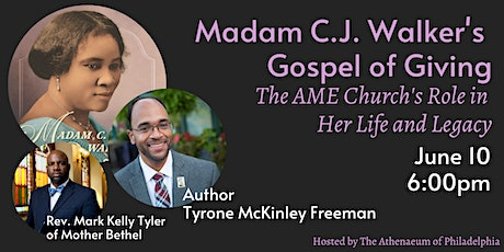 Madam C.J. Walker's Gospel of Giving: The AME Church's Role in Her Life tickets