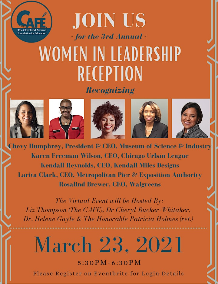 3rd Annual Women in Leadership Reception image