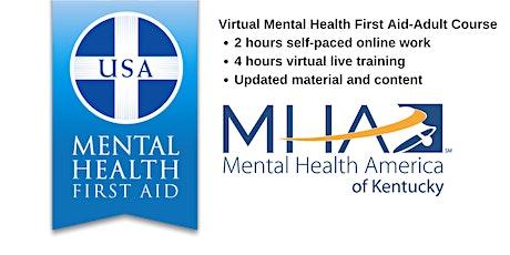 Virtual Mental Health First Aid Adult (Nov. 12) tickets