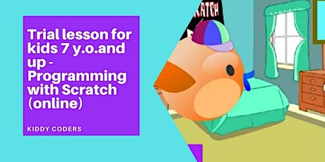 Scratch or kids 6y.o.and up - Demo Class tickets