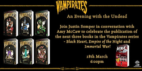 An Evening with the Undead - Justin Somper in conversation with Amy McCaw tickets