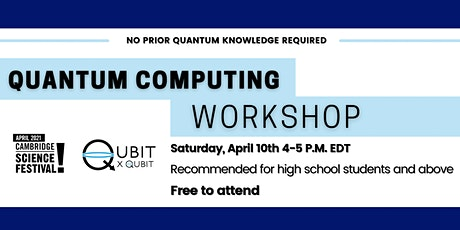 Into the Quantum World! Introduction to Quantum Computing (High school +up) tickets