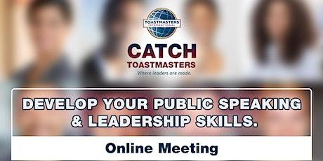[Virtual] Practical Public Speaking & Leadership Development tickets