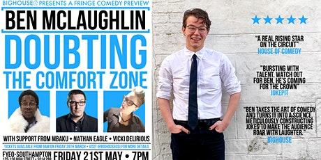 Ben McLaughlin - Doubting the Comfort Zone tickets