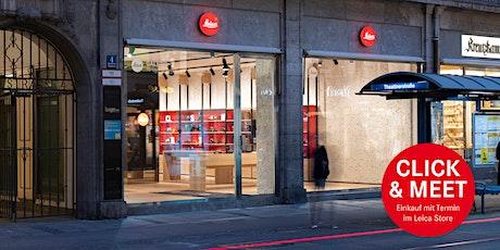 Leica Store München Maffeistraße- Click & Meet Tickets