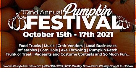 2nd Annual Pumpkin Festival tickets
