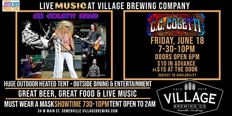 The CC Coletti Band @Village Brewing Company! tickets