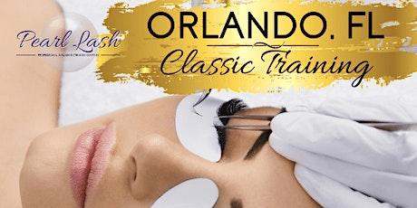 Classic Eyelash Extension Training by Pearl Lash Orlando - April - May 2021 tickets