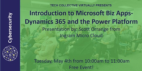 Introduction to Microsoft Biz Apps- Dynamics 365 and the Power Platform tickets