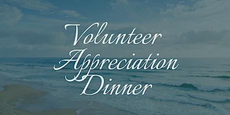 Volunteer Appreciation Dinner tickets