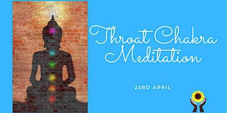 Chakra Meditation Series - Throat Chakra tickets