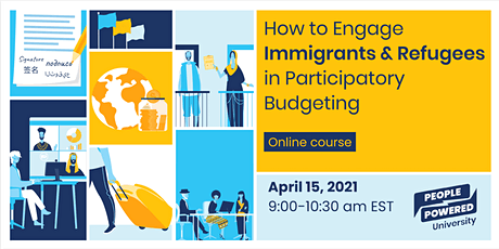 How to Engage Immigrants and Refugees in Participatory Budgeting tickets