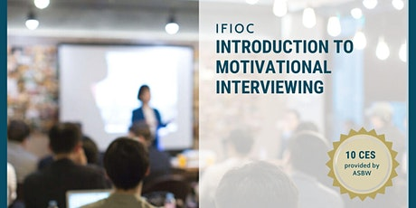 Introduction to Motivational Interviewing tickets