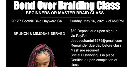 Bond Over Braiding. Let's level Up tickets
