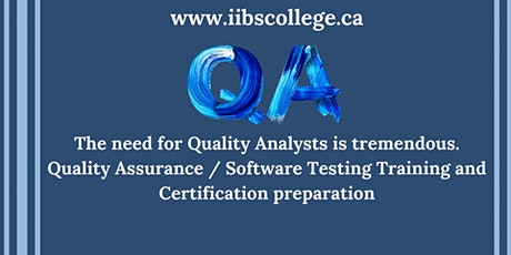 Prepare for high paying jobs – Quality Assurance tickets
